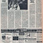 Crónica / Rosendo Mercado y Tahúres Zurdos: guitarras locas por incordiar - Auditorio de Sevilla | El Correo de Andalucía | 26 sep 1993