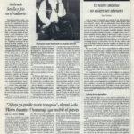 Crónica / Manolo Tena: ardiendo Sevilla y frío en el Auditorio - Auditorio de Sevilla | El Correo de Andalucía | 9 jul 1994