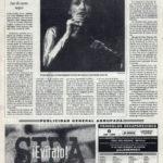 Crónica / Luz Casal: Luz de cuero negro - Auditorio de Sevilla | El Correo de Andalucía | 22 oct 1995