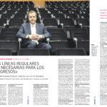 Manuel Otero Alvarado: «Las líneas regulares son necesarias para los congresos» - Asociación de Hoteles de Sevilla | Fórum - ABC de Sevilla | may 2007