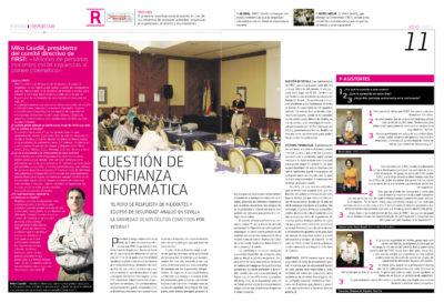 Cuestión de confianza informática – Congreso FIRST Sevilla | Mike Caudill, presidente comité directivo | Fórum – ABC de Sevilla | jul 2007