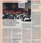 La geografía en la nueva era tecnológica - XX Congreso de la Asociación de Geógrafos Españoles | Fórum - ABC de Sevilla | oct 2007