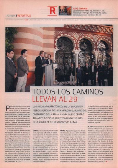 Costurero de la Reina: todos los caminos llevan al 29 | Fórum – ABC de Sevilla | sep 2008