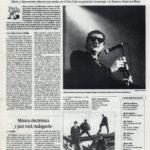 Silvio y Sacramento, operación garrapiñada | Música electrónica y jazz rock malagueño - No Models, Tabletom | El Correo de Andalucía | 25 mar 1994