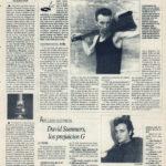 Luis Auserón, color local - En la cabeza | Cuestionario: David Summers, prejuicios G | El Correo de Andalucía | 14 oct 1994