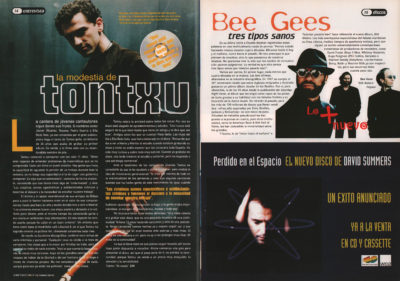 La modestia de Tontxu – Se vende | Bee Gees, tres tipos sanos – Still waters | Whats Music | abr 1997