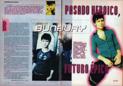 Bunbury: pasado heroico, futuro épico – Radical Sonora | Whats Music | oct 1997