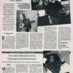 Luis Eduardo Aute, crónicas del aire - Aire / Invisible | Richard Villalón, un canto libertario | El Correo de Andalucía | 22 may 1998
