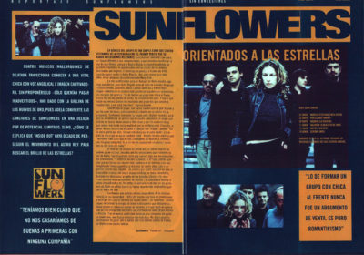 Sunflowers, orientados a las estrellas – Inside out | Whats Music | jun 1999