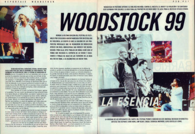 Woodstock 99, la esencia | Whats Music | nov 1999
