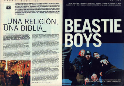 Beastie Boys: una religión, una biblia – The sounds of science | Whats Music | dic 1999