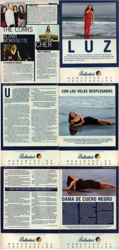 Luz Casal: con las velas desplegadas – Un mar de confianza | Whats Music | dic 1999