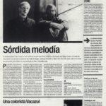Arab Strap: sórdina melodía - Teatro Central Sevilla | El Correo de Andalucía | 26 may 2000