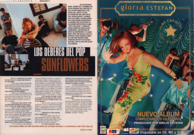 Sunflowers: los deberes del pop – Homework | 40 Magazine | jun 2000