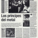 Gira andaluza de Napalm Death: los príncipes del metal - Leaders not followers | El Correo de Andalucía | 27 oct 2000