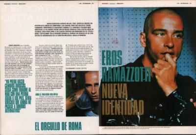 Eros Ramazzotti: el orgullo de Roma – Estilolibre | 40 Magazine | dic 2000