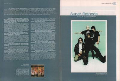 Super Ratones, un viaje que emprender – Mancha registrada | 40 Magazine | feb 2002