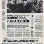Ojos de Brujo: obreros de la planta de fusión - Bari | De Marcha - El Correo | 23 ene 2003