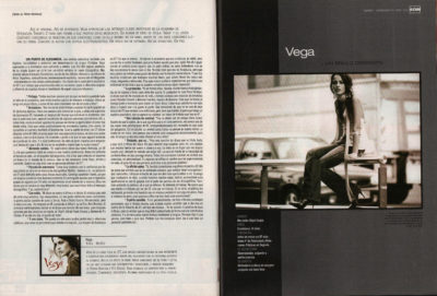 Vega: un brillo diferente – India – Mercedes Migel Carpio | 40 Magazine | jul 2003