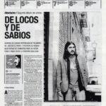 Albertucho, de locos y de sabios - Lunas de mala lengua | De Marcha - El Correo | 18 may 2006