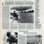 Pesca deportiva / La seguridad en la pesca - conductividad del carbono | Trasmallos en el Lago Azul | El Correo de Andalucía | 11 mar 1994
