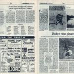 Pesca deportiva / Barbos entre pinares - Embalse del Calabazal - Pedro Padilla | El Correo de Andalucía | 10 may 1996