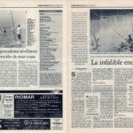 Pesca deportiva / La infalible caña enchufable   Éxito de los pescadores sevillanos en la competición de mar costa   El Correo de Andalucía   21 nov 1997