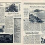Pesca deportiva / Club Sevilla, por un acuerdo de paz – Nacional en Castrejón – Torneos Milo y Villa de Cantillana   Maratón de pesca en el Lago Azul   El Correo de Andalucía   8 may 1998
