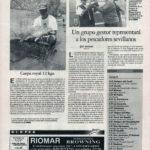 Pesca deportiva / Un grupo gestor representará a los pescadores sevillanos | Carpa royal 12 kg | El Correo de Andalucía | 22 may 1998