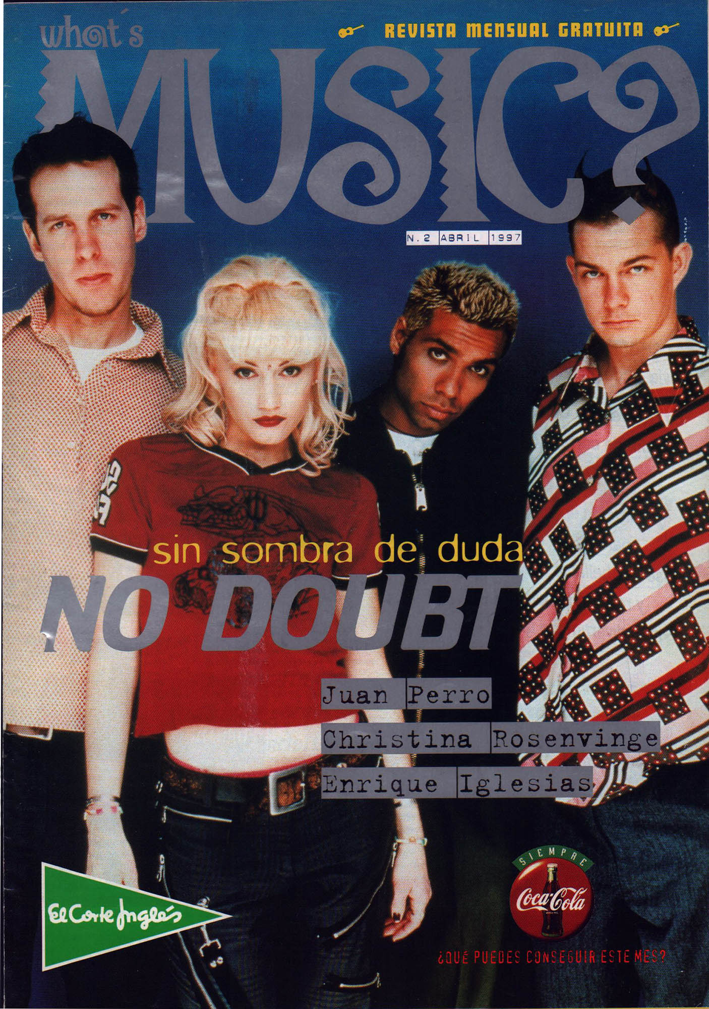 No Doubt, sin sombra de duda | What's Music? | abr 1997