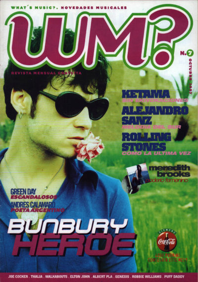 Bunbury | What's Music? | oct 1997
