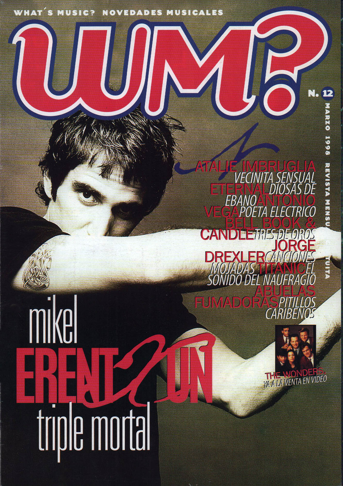 Mikel Erentxun, triple mortal | What's Music? | mar 1998