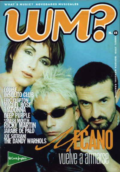 Mecano vuelve a armarse | What's Music? | abr 1998