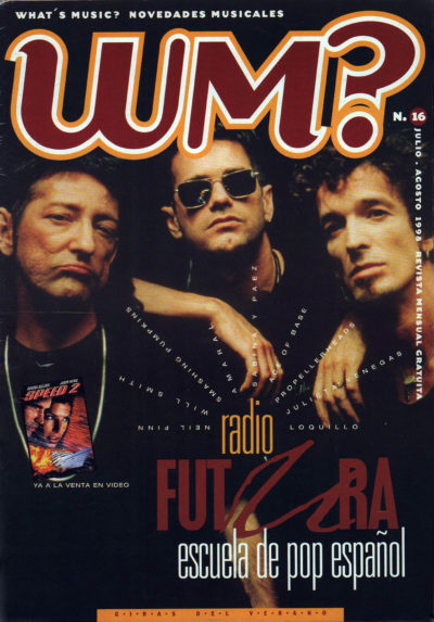 Radio Futura, escuela de pop español | What's Music? | jul 1998