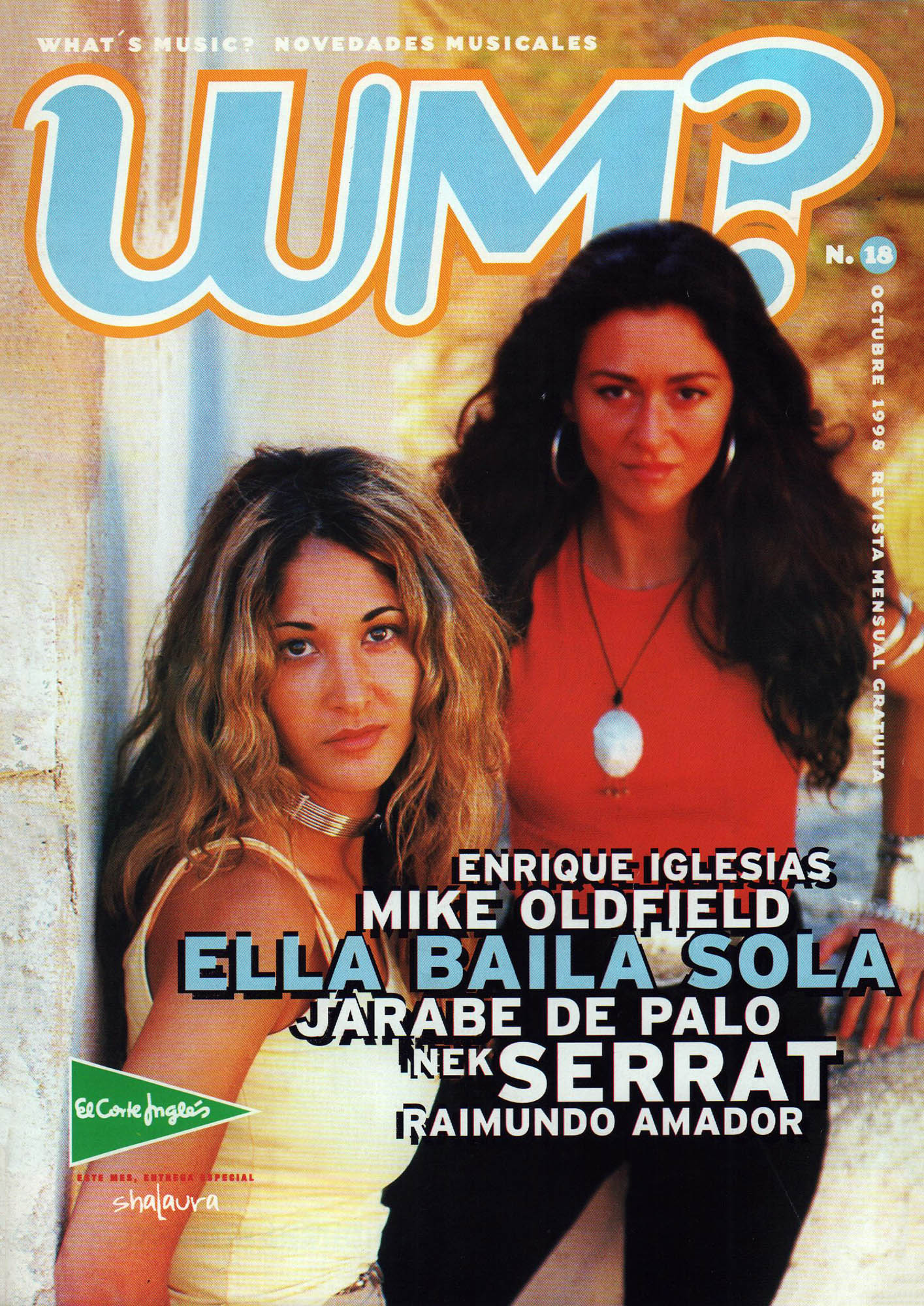 Ella Baila Sola   What's Music?   oct 1998