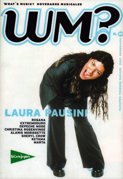 Laura Pausini | What's Music? | nov 1998