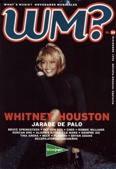 Whitney Houston | What's Music? | dic 1998