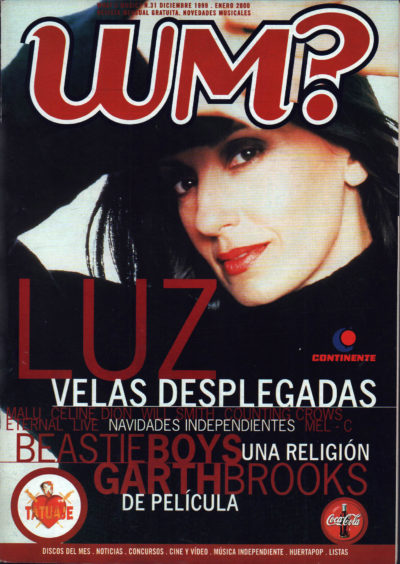 Luz Casal, velas desplegadas | What's Music? | dic 1999
