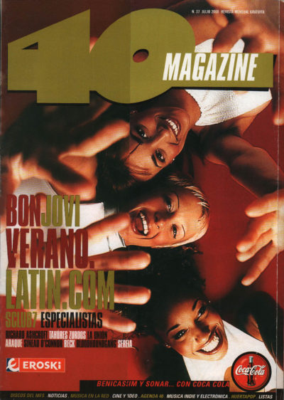 Latin.com | 40 Magazine | jul 2000