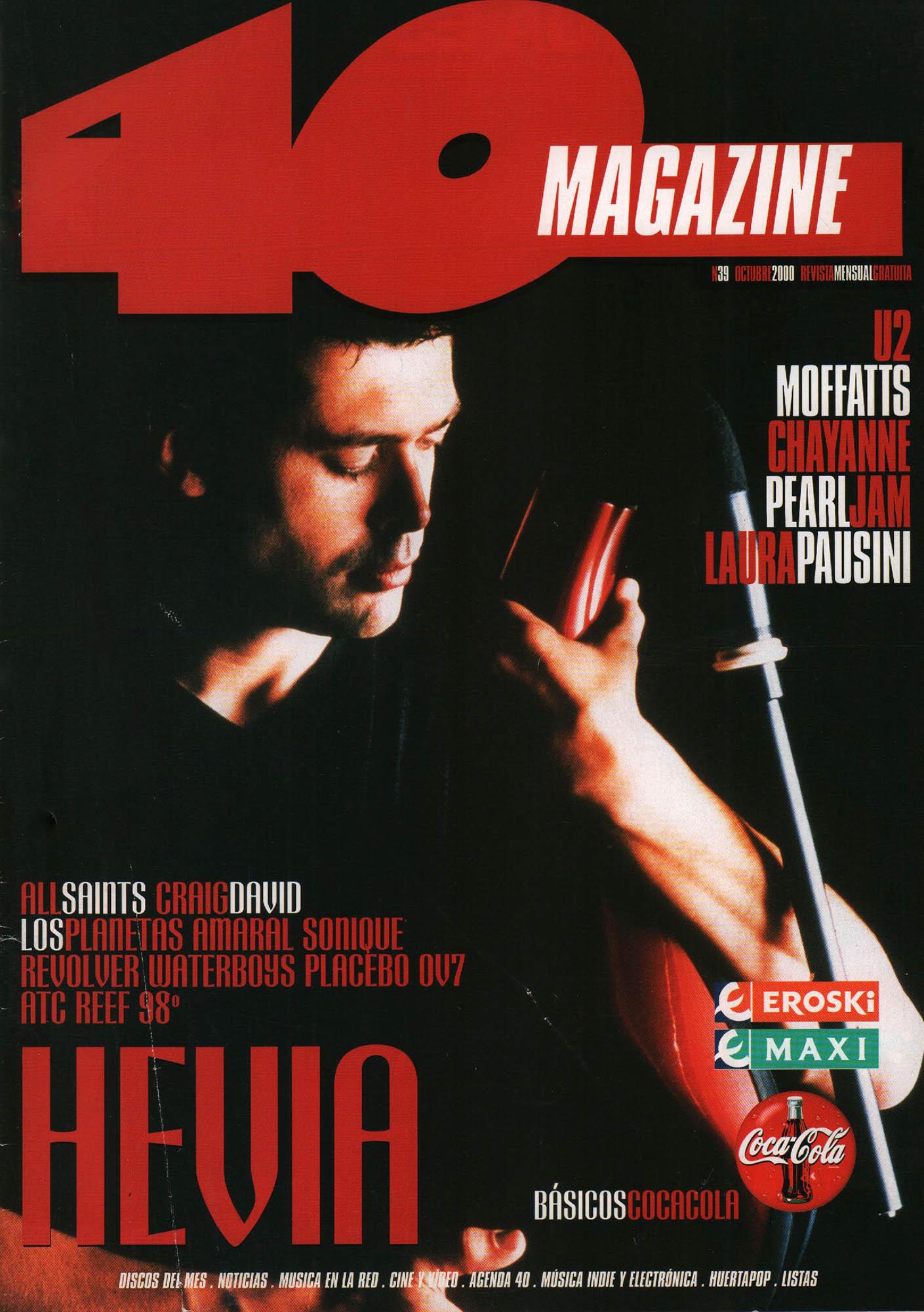 Hevia | 40 Magazine | oct 2000