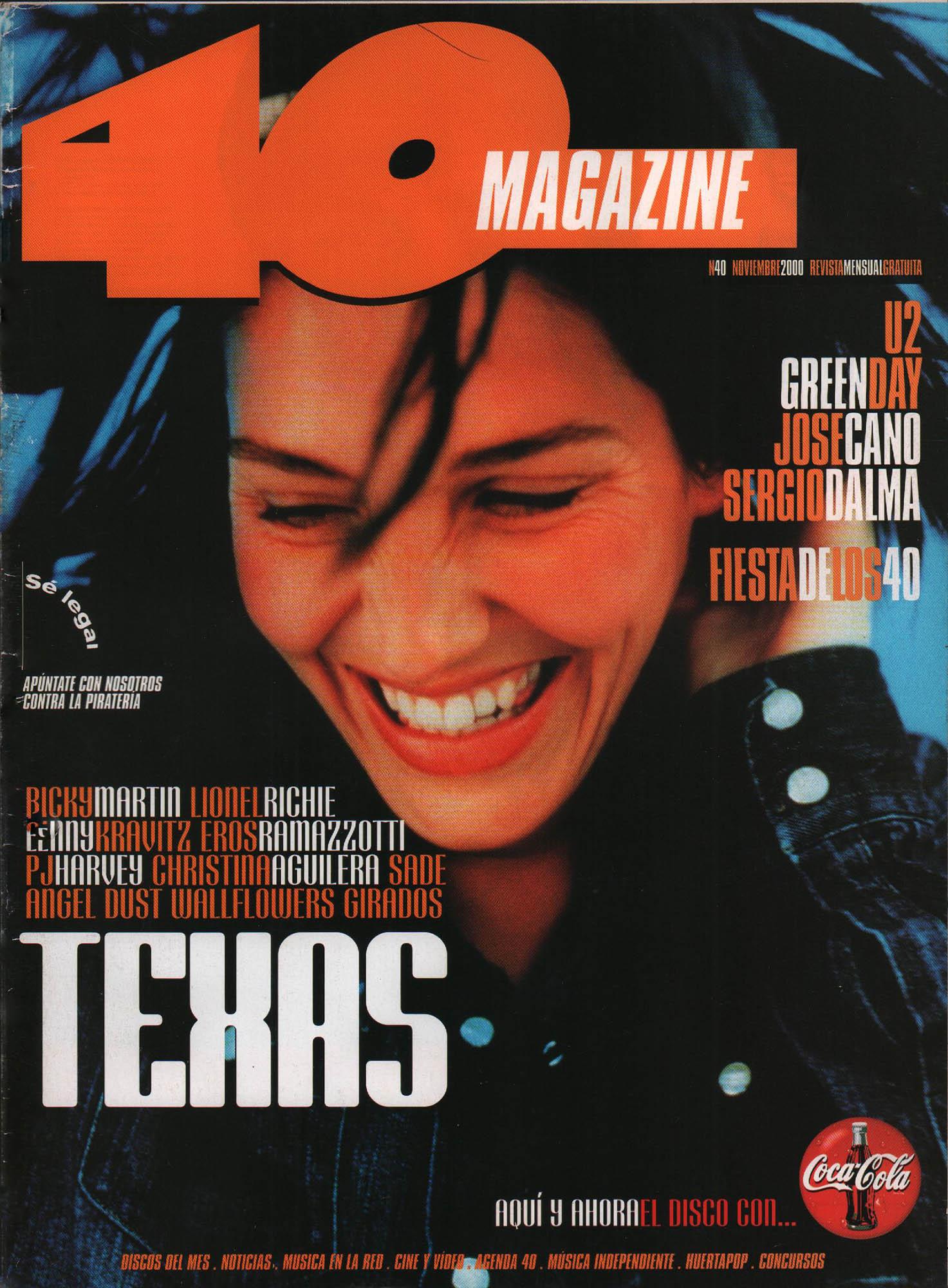 Texas | 40 Magazine | nov 2000