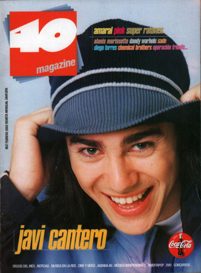Javi Cantero | 40 Magazine | feb 2002
