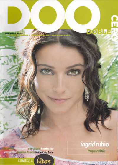 Ingrid Rubio, imparable | Doblecero – El Corte Inglés | may 2002