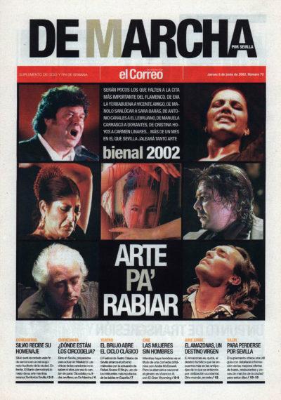 Bienal 2002: arte pa' rabiar | De Marcha – El Correo | 6 jun 2002