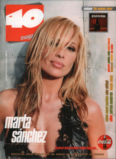 Marta Sánchez | 40 Magazine | jun 2002