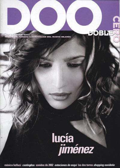 Lucía Jiménez | Doblecero – El Corte Inglés | dic 2002