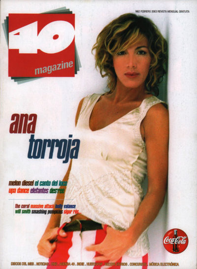 Ana Torroja | 40 Magazine | feb 2003