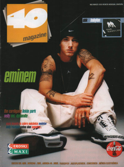 Eminem | 40 Magazine | mar 2003