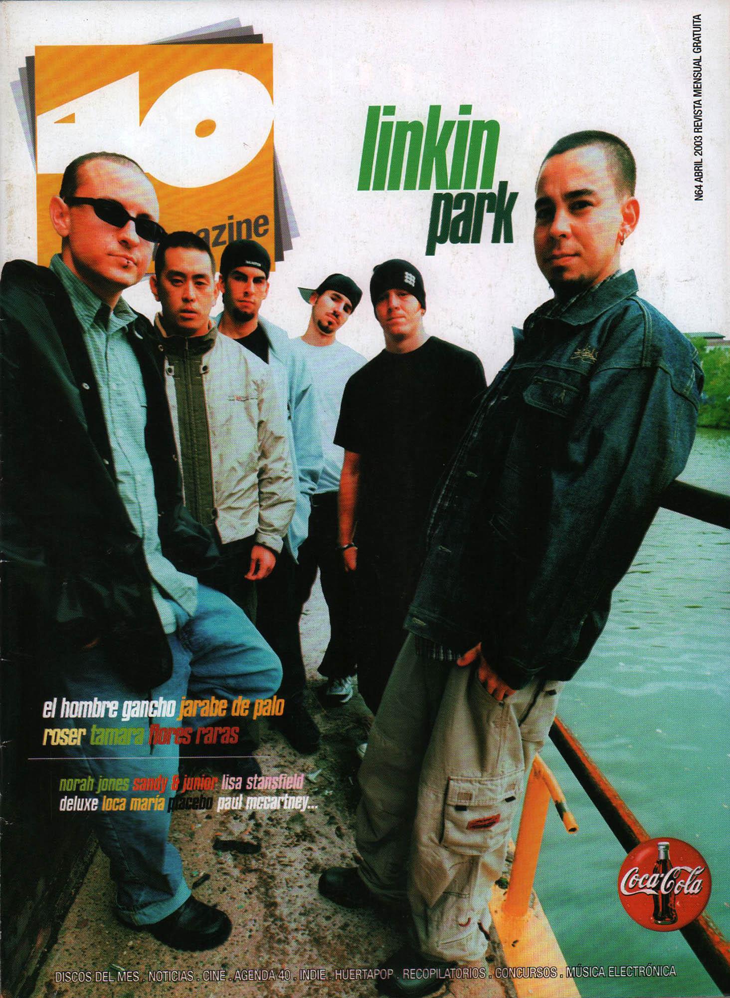 Linkin Park | 40 Magazine | abr 2003