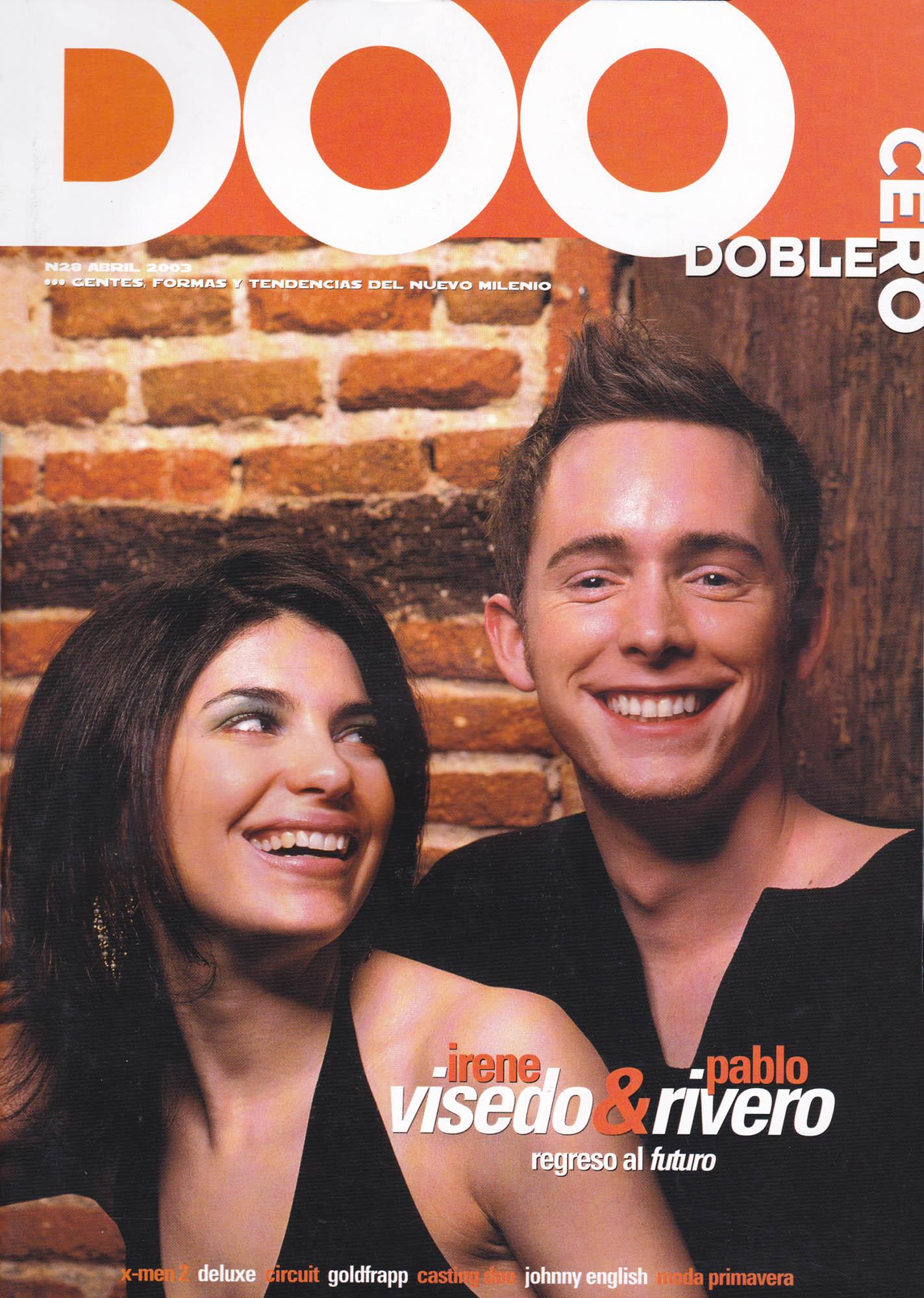 Irene Visedo & Pablo Rivero | Doblecero - El Corte Inglés | abr 2003